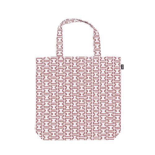 Artek - H55 Stofftasche, weiß / rot