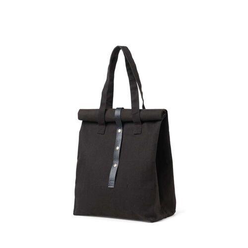 Juna - Rå Picknick Tasche, H 43 cm, schwarz