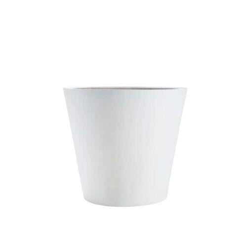 Amei - Pflanzkübel Der Runde, XS, weiß