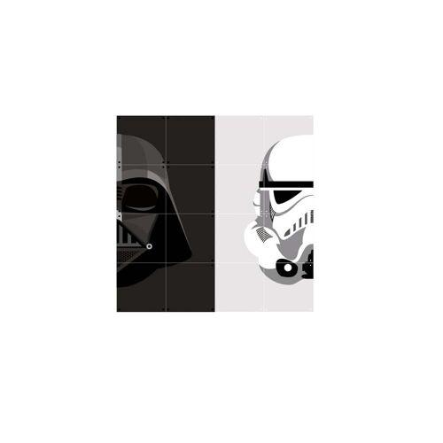IXXI - Stormtrooper / Darth Vader, 80 x 80 cm