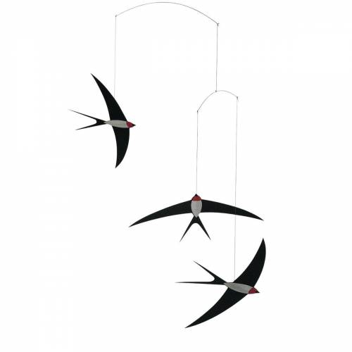 Flensted Mobiles - Flying Swallows Mobile 3