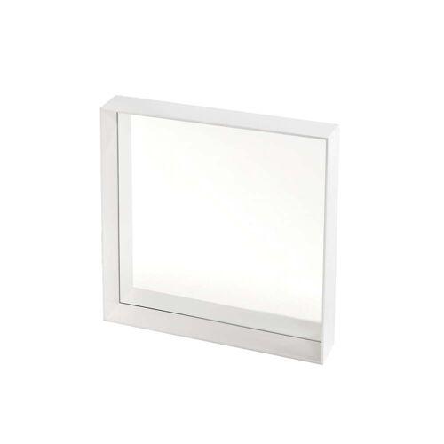 Kartell - Only Me Spiegel 50 x 50 cm, weiß