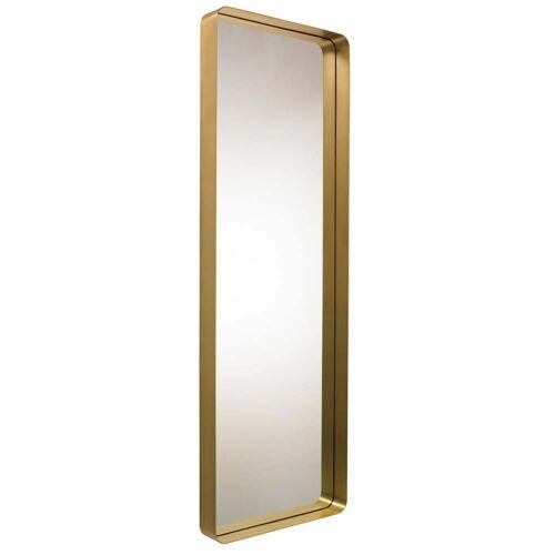Classicon - Cypris Spiegel 180 x 60, Messing / Kristallglas