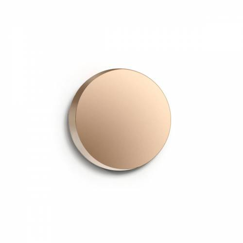 Caussa - Cres Spiegel, Ø 25 cm / bronze