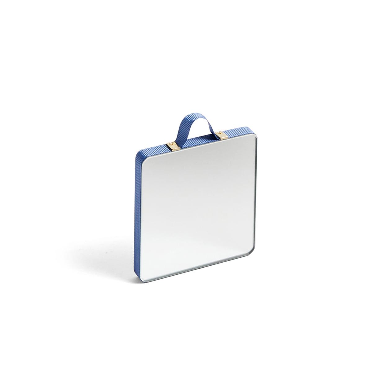 HAY - Ruban Spiegel Square XS, blau