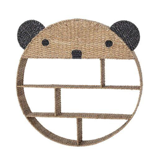 Bloomingville - Kinderregal Panda, natur