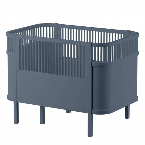 Sebra - Das Sebra Bett, Baby & Junior, forest lake blue