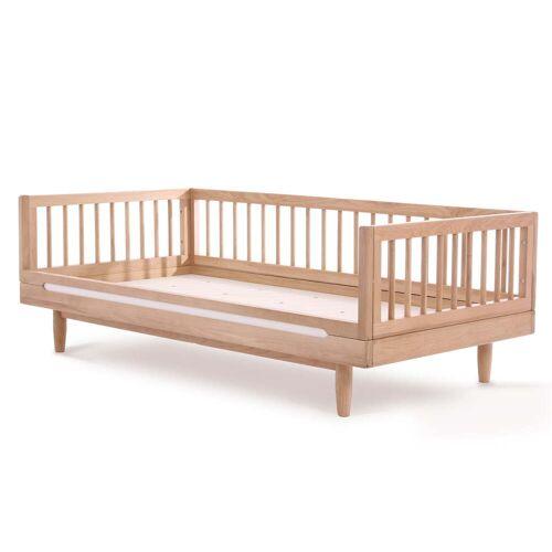 Nobodinoz - Pure Junior Bett, 70 x 140 cm, Eiche