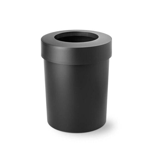 Depot4Design - Midi Cap Papierkorb, schwarz