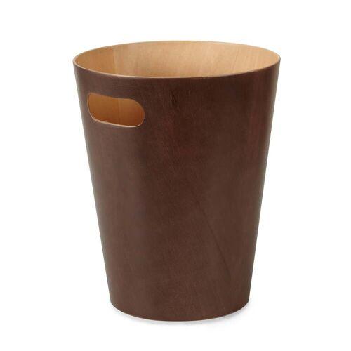 Umbra - Woodrow Papierkorb, espresso