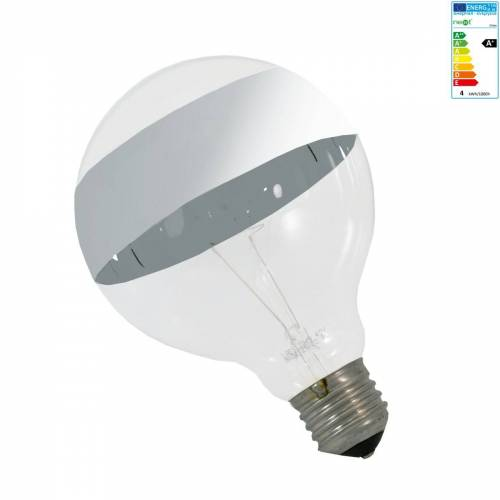 Next Home - Globe LED-Leuchtmittel mit Spiegelstreifen, E27, 4W