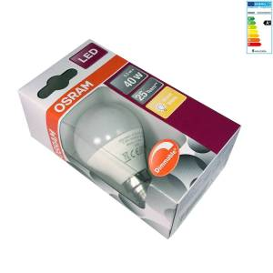Osram - LED Superstar Classic P 40, 6 W, E14, frosted