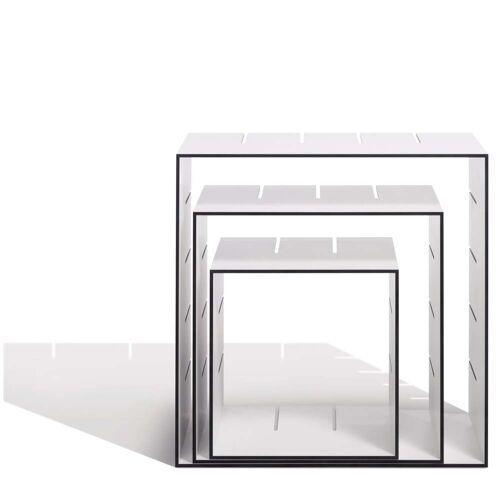 Müller Möbelwerkstätten - Konnex Regalsystem, Tiefe 200 mm, 3er Set