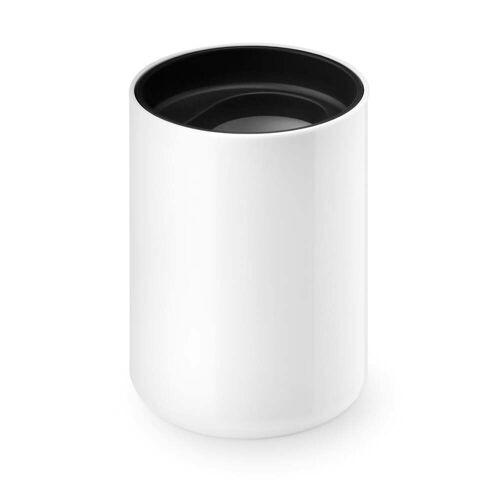 Depot4Design - Lunar Zahnputzbecher, weiß / schwarz