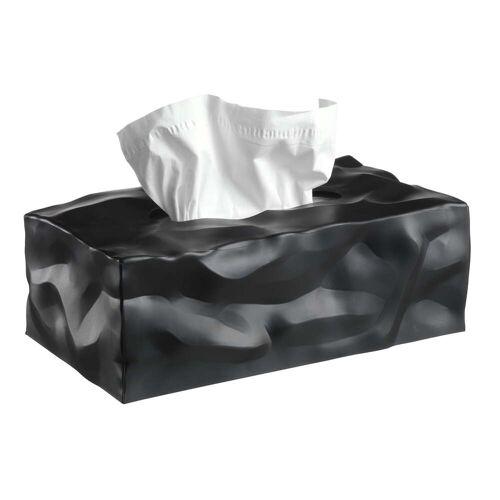 essey - Wipy 2-Cube Tuchbox, schwarz