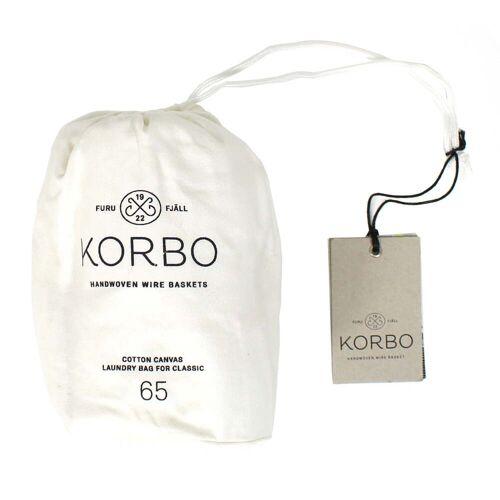 Korbo - Laundry Bag 65, weiß