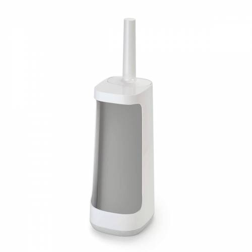 Joseph Joseph - Flex Smart Plus Toilettenbürste, grau (inkl. Aufbewahrung)