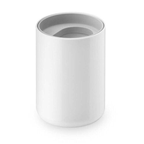 Depot4Design - Lunar Zahnputzbecher, weiß / grau