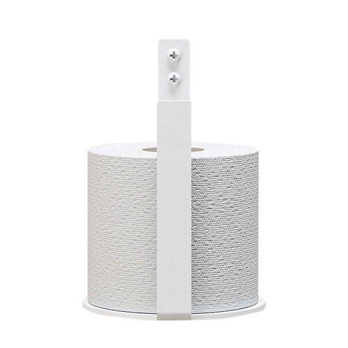 Nichba Design - Toilettenpapier-Halter Extra, weiß