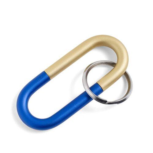 HAY - Cane Schlüsselring, blau