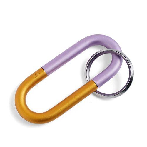 HAY - Cane Schlüsselring, lila
