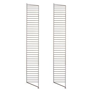 String - Bodenleiter für String Regal 200 x 30 cm (2er Set), braun