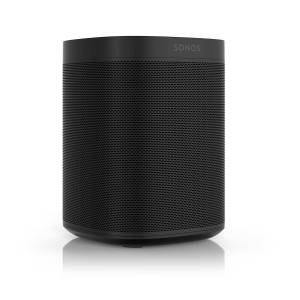 Sonos - ONE, All-in-One Smart Speaker mit Sprachsteuerung, schwarz