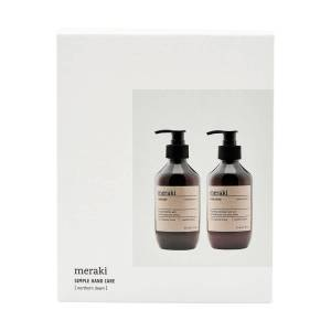 Meraki - Geschenk-Box, Northern Dawn Handseife & Handlotion, 275 ml (2er-Set)
