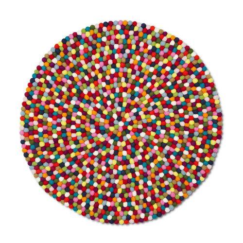 HAY - Pinocchio Teppich multi colour, 140 cm