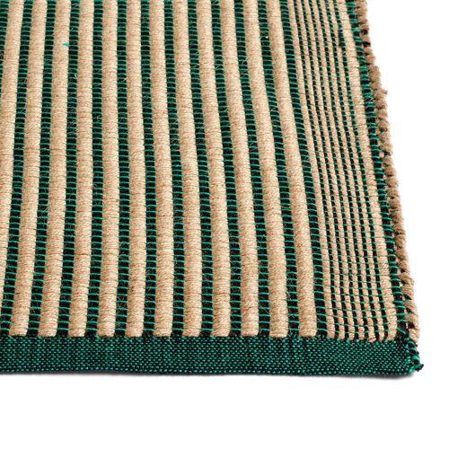 HAY - Tapis Teppich, 80 x 200 cm, schwarz / grün