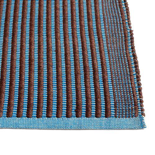 HAY - Tapis Teppich, 80 x 200 cm, kastanie / blau