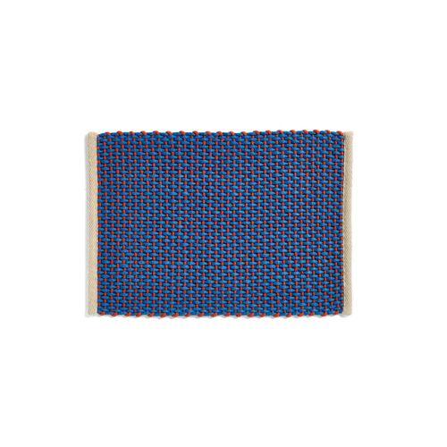 HAY - Door Mat Fußabtreter, 50 x 70 cm, blau