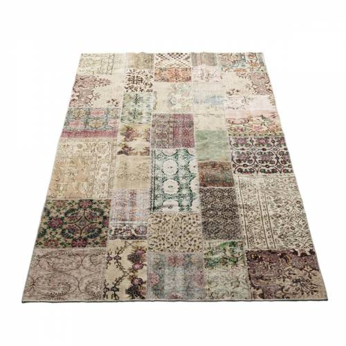 Massimo - Vintage Teppich, 170 x 240 cm, hellnatur
