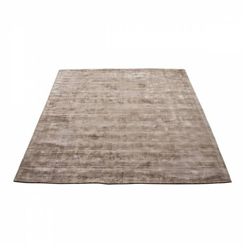 Massimo - Karma Teppich, 160 x 230 cm, nougatbraun