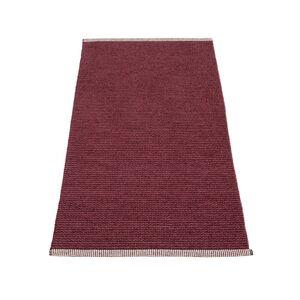 Pappelina - Mono Teppich, 85 x 160 cm, zinfandel / rose taupe