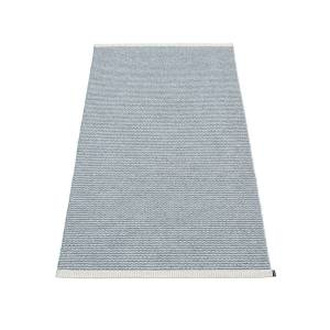 Pappelina - Mono Teppich, 85 x 160 cm, sturmblau / hellgrau
