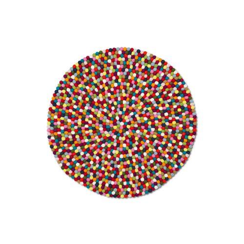 HAY - Pinocchio Teppich multi colour, 90 cm