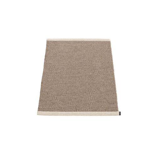 Pappelina - Mono Teppich, 60 x 85 cm, dark mud / mud