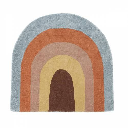 OYOY - Rainbow Kinderteppich, 88 x 90 cm, multi