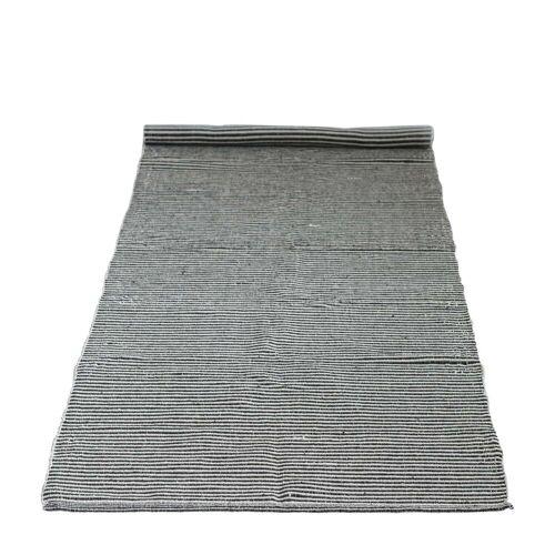 Bloomingville - Teppichläufer, 240 x 75 cm, schwarz