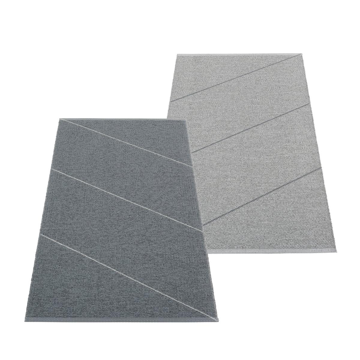 Pappelina - Randy Wendeteppich, 70 x 135 cm, granit / grau