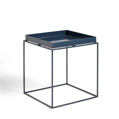 HAY - Tray Table 40 x 40 cm, tiefblau glänzend