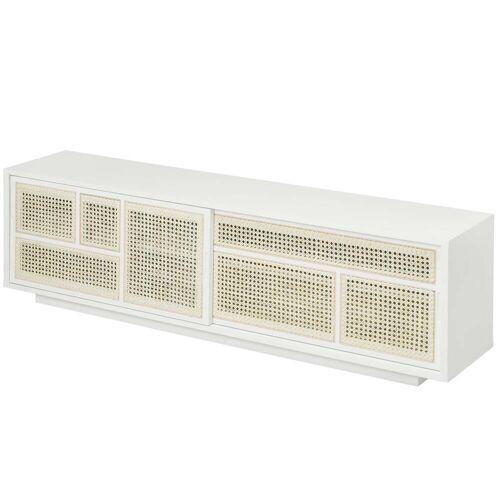 Design House Stockholm - Air Sideboard/ TV- Konsole, weiß / grau