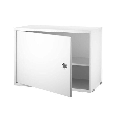 String - Schrankmodul mit Tür, 58 x 30 cm, weiß