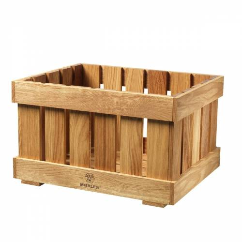 FDB Møbler - X1 Apple box Obstkiste groß, Eiche natur