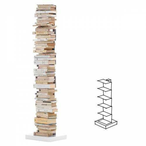 Opinion Ciatti - Ptolomeo Stand-Bücherregal PT72, weiß