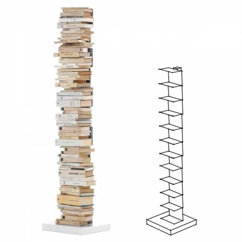 Opinion Ciatti - Ptolomeo Stand-Bücherregal PT160, weiß