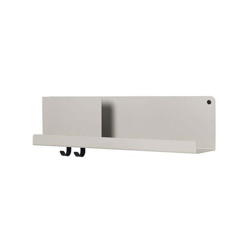 Muuto - Folded Shelves 63 x 16,5 cm, grau