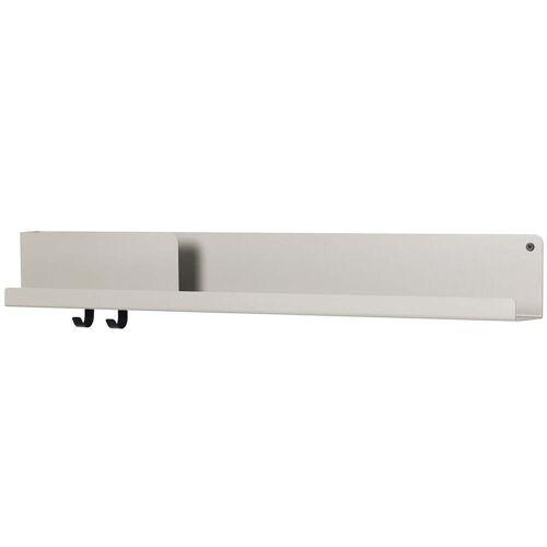 Muuto - Folded Shelves 96 x 13 cm, grau
