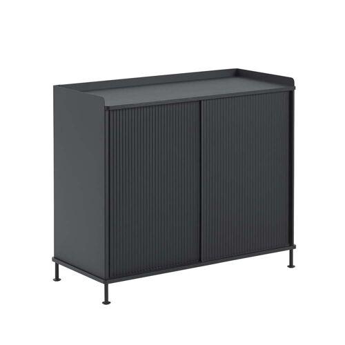 Muuto - Enfold Sideboard hoch, schwarz